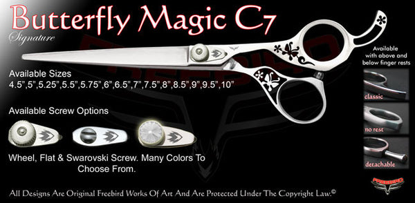 Butterfly Magic C7 Signature Grooming Shears