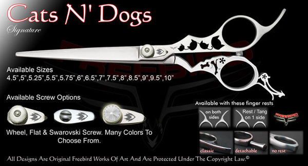 Cats N Dogs Straight Signature Grooming Shears