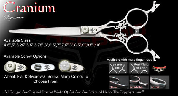 Cranium Straight Signature Grooming Shears