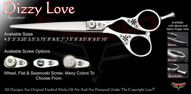 Dizzy Love Signature Grooming Shears