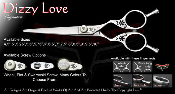 Dizzy Love Straight Signature Hair Shears