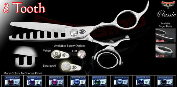 Double Swivel 8 Tooth Chunking Shears