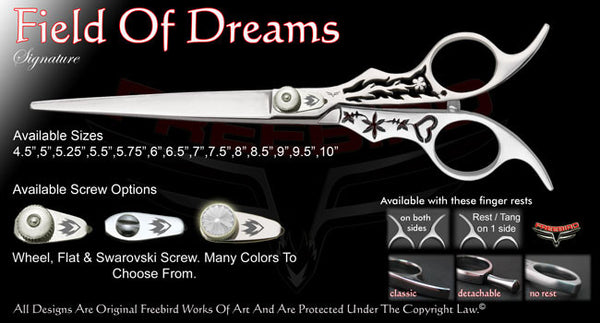 Field Of Dreams Straight Signature Grooming Shears