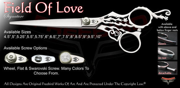 Field Of Love Signature Grooming Shears
