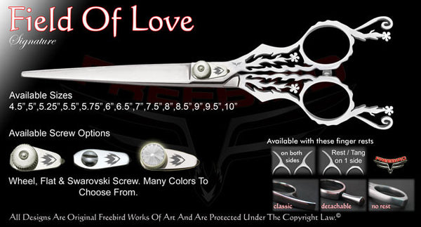 Field Of Love Straight Signature Grooming Shears