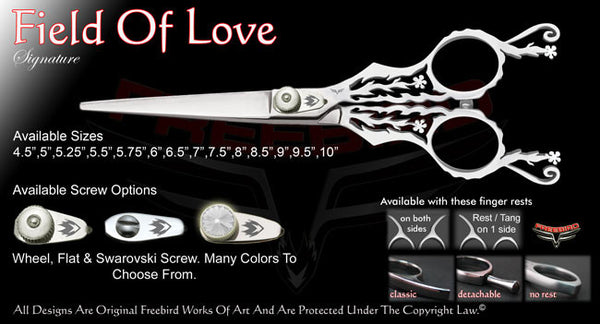 Field Of Love Straight Signature Hair Shears
