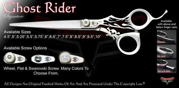 Ghost Rider Signature Grooming Shears