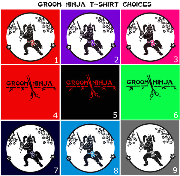 Groom Ninja T-Shirt