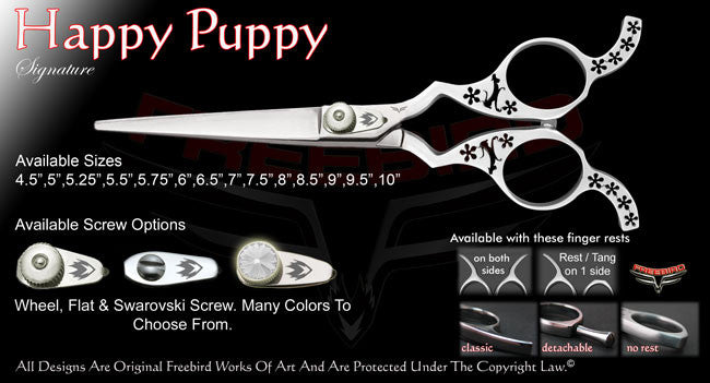 Happy Puppy Straight Signature Hair Shears