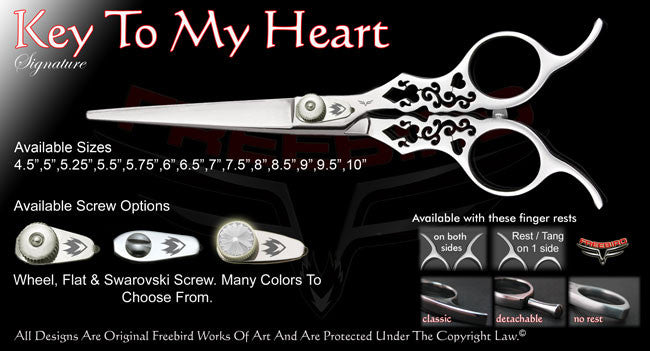 Key To My Heart Straight Signature Hair Shears