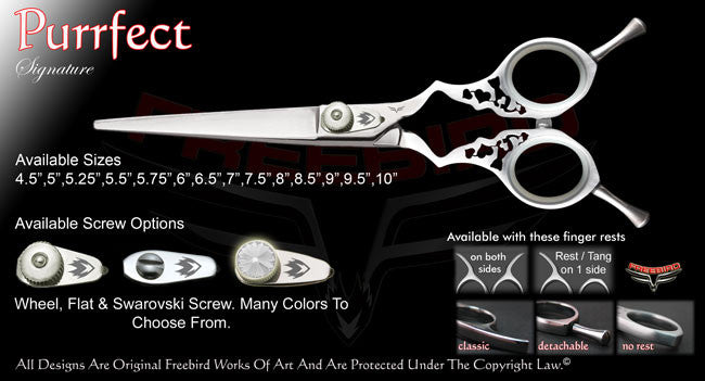 Purrfect Straight Signature Hair Shears