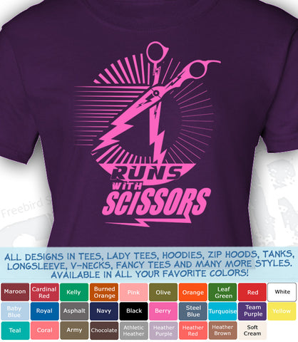 Runs With Scissors (Pink)