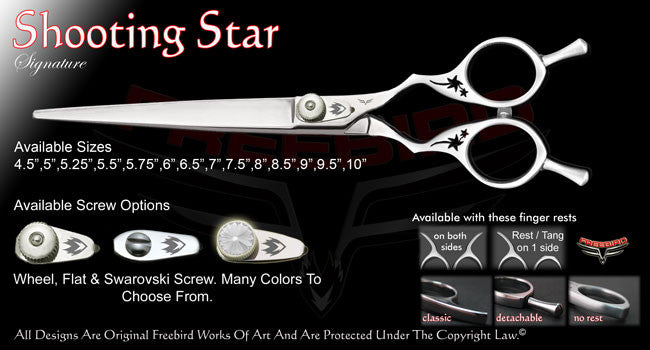 Shooting Star Straight Signature Grooming Shears