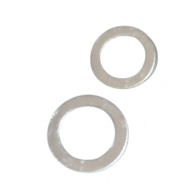 100 silicone washers (50 small & 50 big)