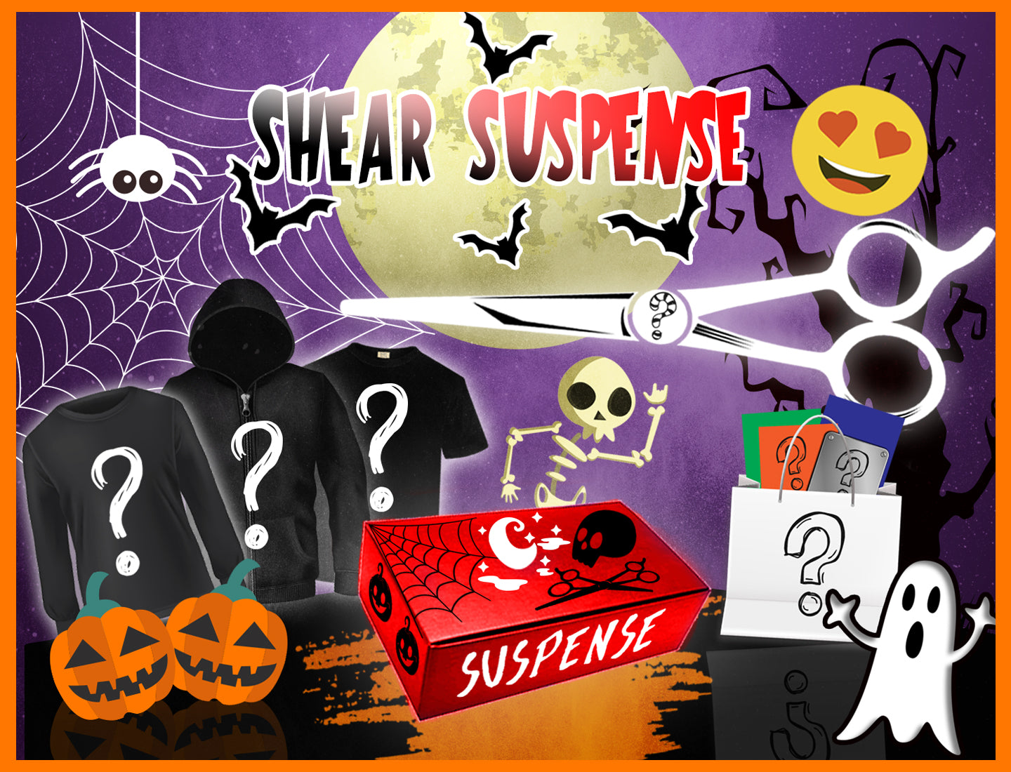 The Shear Suspense Pack For Stylists ✂️🎃🧛‍🦇