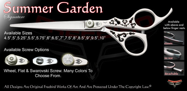 Summer Garden Signature Grooming Shears