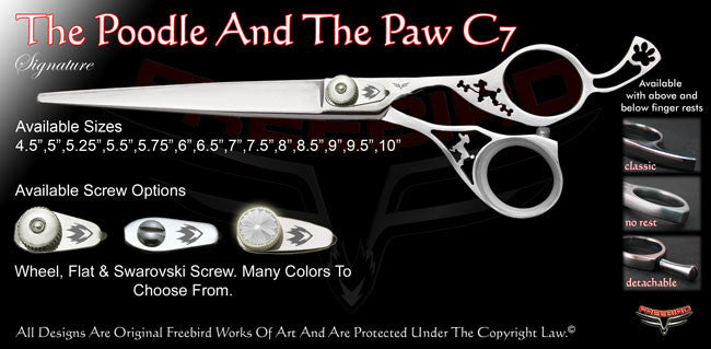 The Poodle And The Paw C7 Signature Grooming Shears