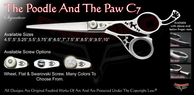 The Poodle And The Paw C7 Signature Hair Shears