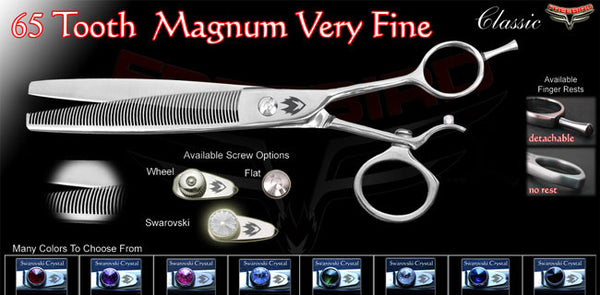 V Swivel 65 Tooth Magnum Thinning Shears