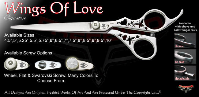 Wings Of Love Signature Grooming Shears
