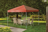 ShelterLogic 22738 10 ft. x 10 ft. Pro Pop-up Canopy Straight Leg Terracotta Cover - ShelterMall - 3