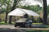 ShelterLogic 25757 10 ft. x 20 ft. Canopy 1-3/8 in. 3-Rib Frame White Cover - ShelterMall - 3