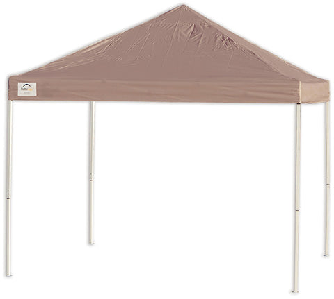 ShelterLogic 22542 12ft. x 12 ft. Pro Pop-up Canopy Straight Leg Desert Bronze Cover - ShelterMall