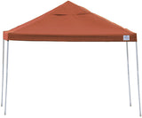 ShelterLogic 22738 10 ft. x 10 ft. Pro Pop-up Canopy Straight Leg Terracotta Cover - ShelterMall - 1