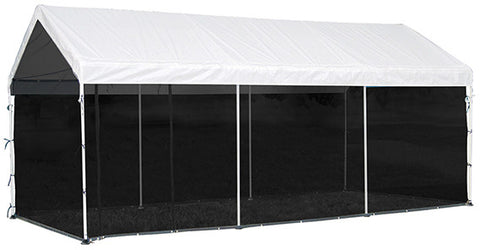 ShelterLogic 23531 Max AP 2-in-1 Canopy Pack 10 ft. x 20 ft.   With Screen Enclosure Kit - ShelterMall