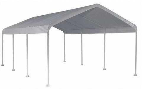 ShelterLogic 25773 Super Max 12 ft. x 20 ft. White Premium Canopy - ShelterMall - 1