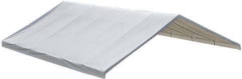 "ShelterLogic 27779 30x40 Canopy White Replacement Cover for 2-3/8"" Frame FR Rated - ShelterMall"