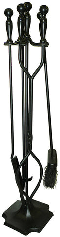 ShelterLogic 90390 Hearth Accessories Fireplace Toolset 5 pc. - ShelterMall - 1