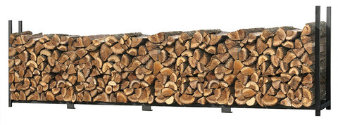 ShelterLogic 90469 Firewood Rack-in-a-Box Ultra Duty Rack - 16 ft. - ShelterMall