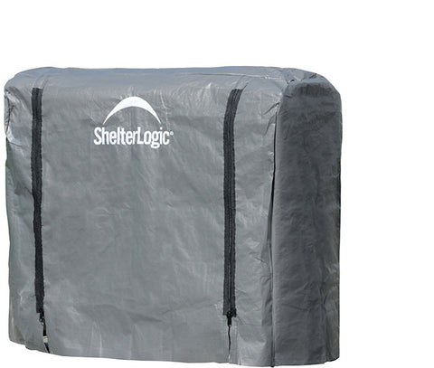 ShelterLogic 90477 Firewood Rack-in-a-Box Universal Cover - 4 ft. - ShelterMall - 1