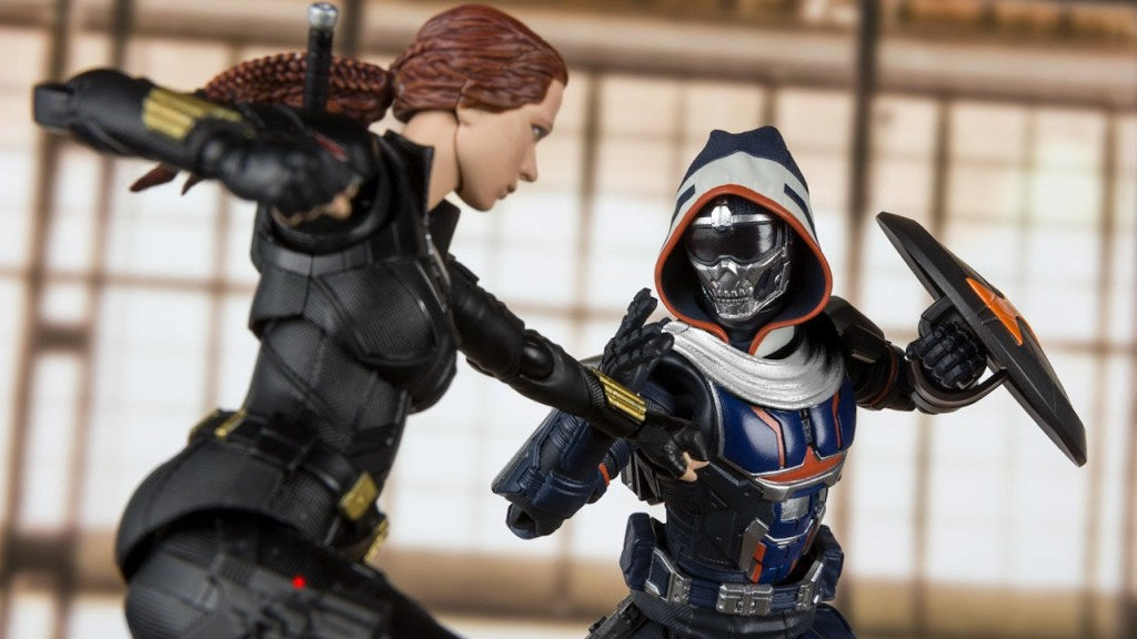 Bandai: S.H. Figuarts Movie Black Widow and Taskmaster Promo Images and Info