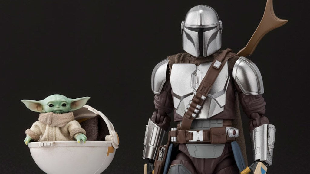 Bandai: More S.H. Figuarts Star Wars Mandalorian in Beskar and The Child Details