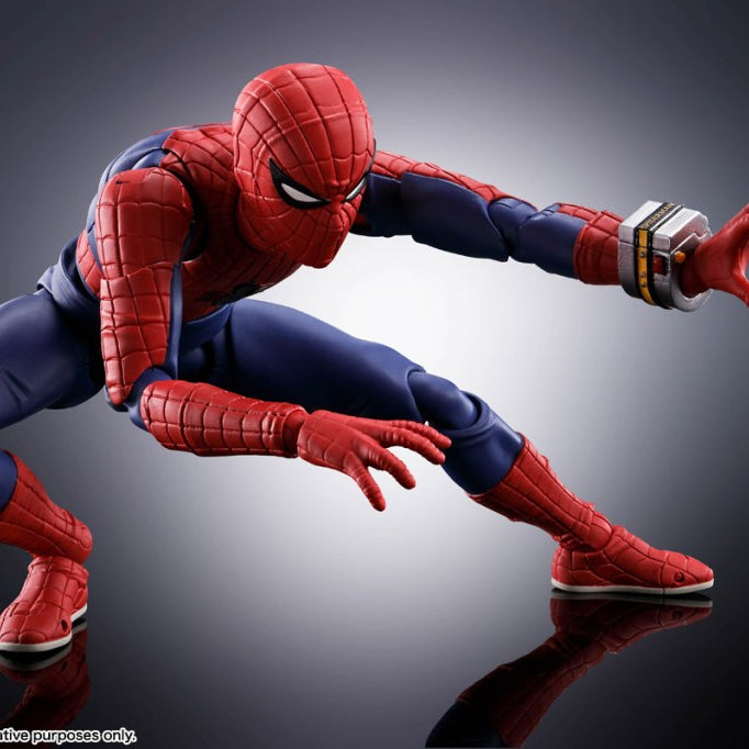 Bandai: S.H. Figuarts Toei Spider-Man Promo Images and Info