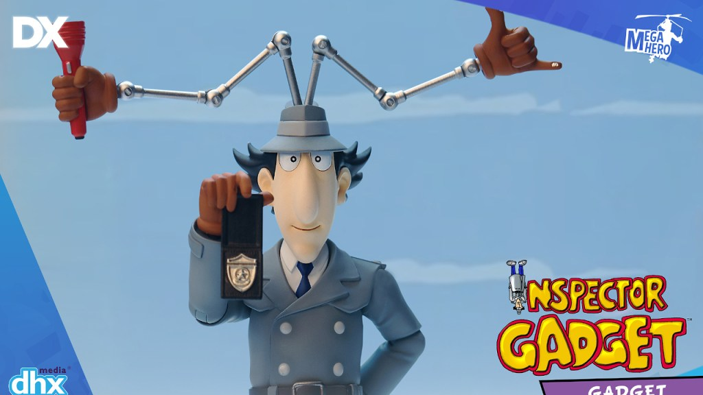 Blitzway: Inspector Gadget Promo Images and Pre-Order