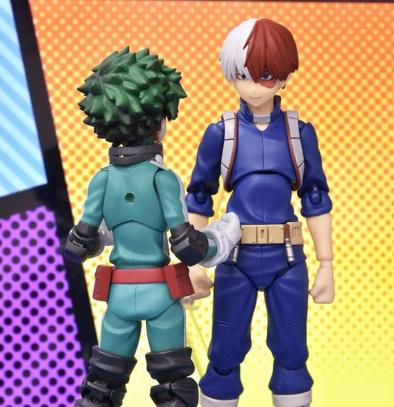 Good Smile Company: figma My Hero Academia Todoroki Promo Images and Pre-Order