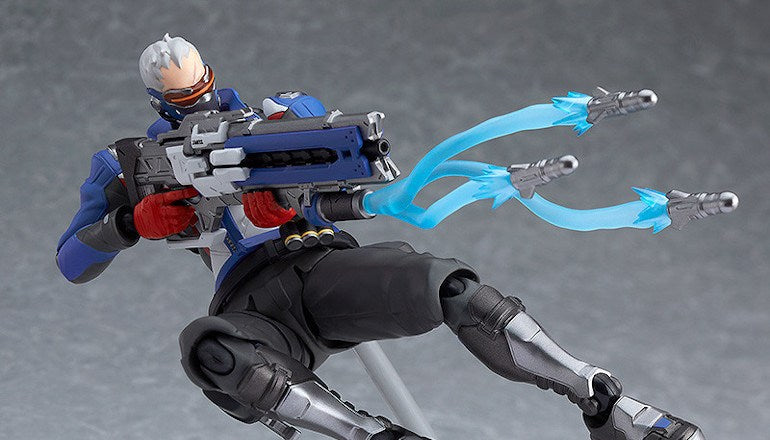 Good Smile Company: figma Overwatch Soldier 76 Promo Images and Pre-Order
