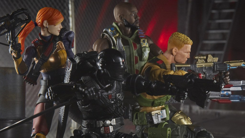 Hasbro: G.I. Joe Classified Series Standard Snake Eyes Officially Revealed
