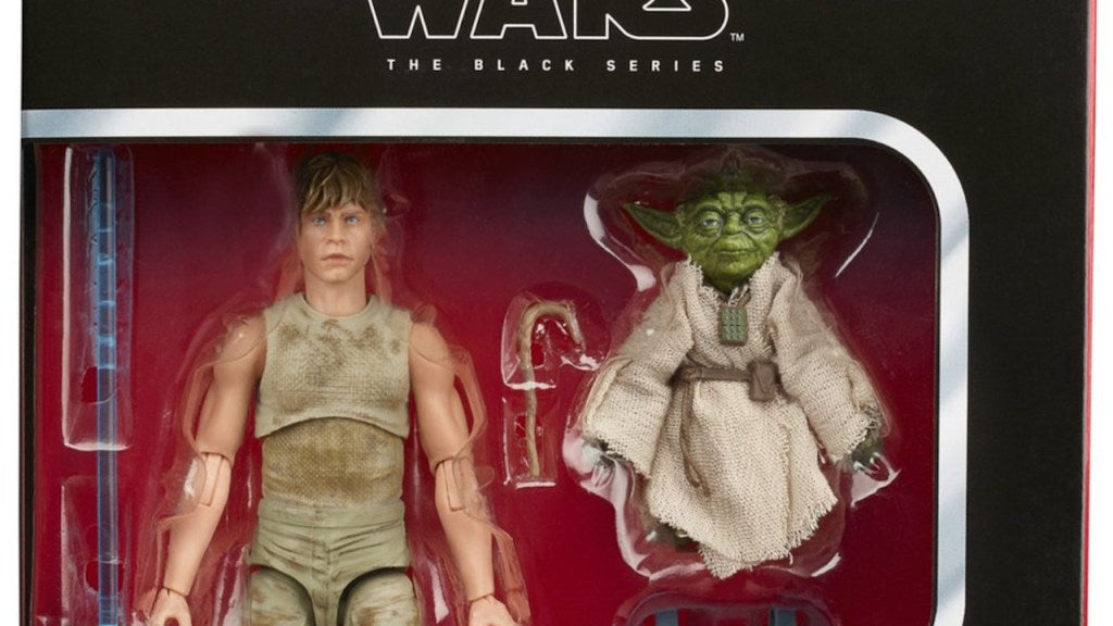 Hasbro: Star Wars Black Series Dagobah Luke and Yoda 2-Pack Pre-Order and Promo Images