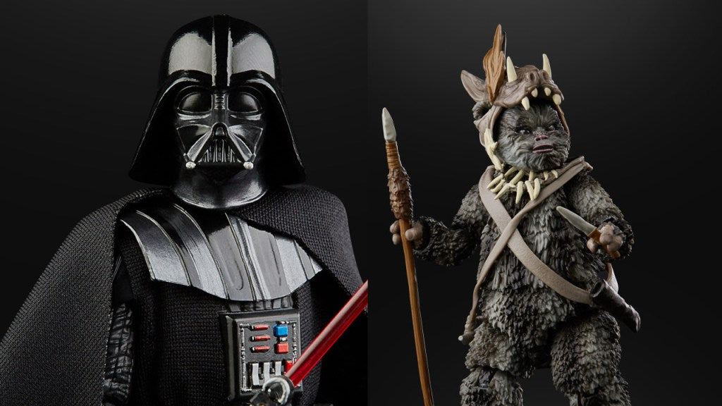 Hasbro: Star Wars Black Series Teebo, Admiral Ackbar, Beskar Mando, and ESB Darth Vader Fan Site Reveals!