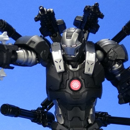 Kaiyodo: Amazing Yamaguchi Marvel War Machine Video Review and Quick Pics