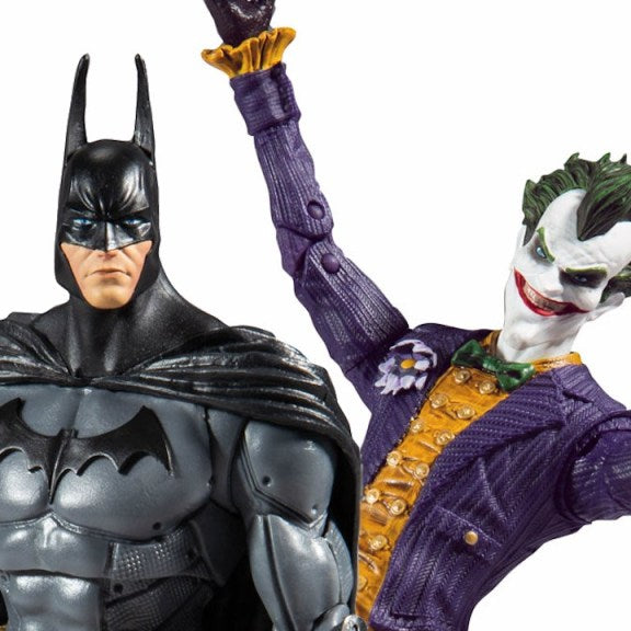 McFarlane Toys: DC Multiverse Arkham Asylum Batman and Joker Promo Images and Pre-Orders