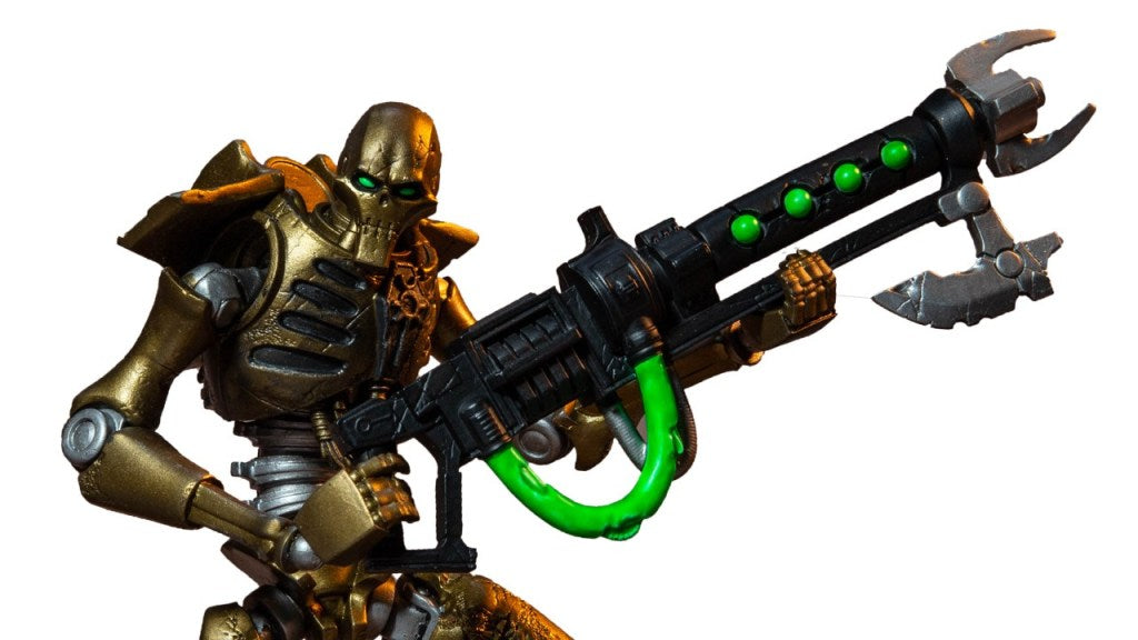 McFarlane Toys: Warhammer 40,000 Necron Warrior Promo Images and Info