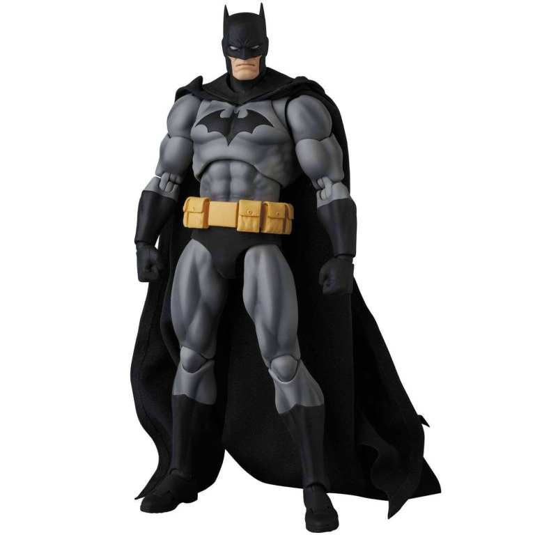 Medicom: MAFEX Hush Batman (Black Costume) and Lebron James Promo Images
