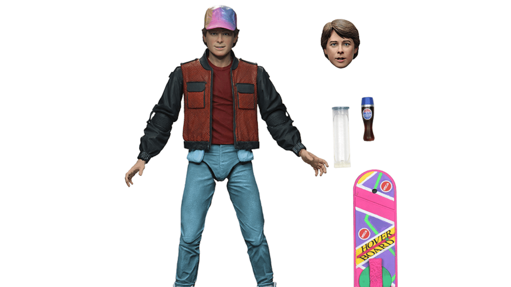 NECA: Back to the Future Ultimates and Toony Classics Promo Pics and Info