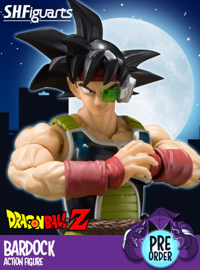 Dragon Ball Z S.H.Figuarts Bardock Action Figure
