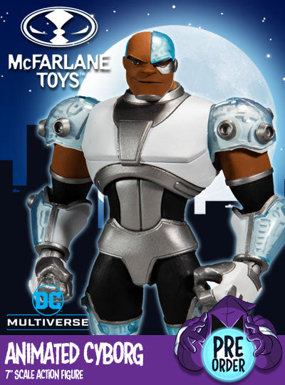 DC Multiverse Animated Cyborg